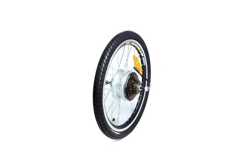 Splitter nya Bakhjul med motor El-Cykel Energy Bike Camp 20 tum | Superbilligt.se CF-92