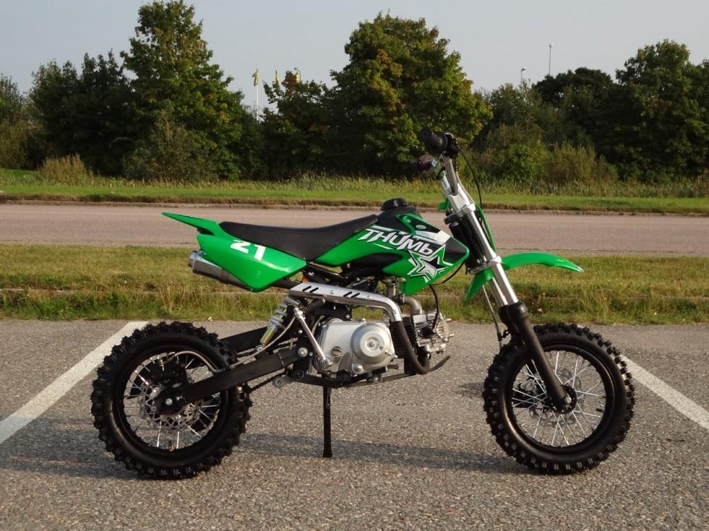Barncross 110cc X Dirt Bike 21 Halvautomat Lincoln Pit 14183 4